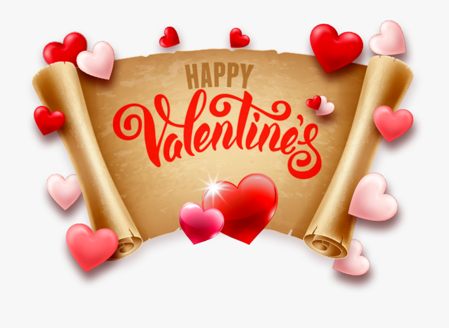 Happy Valentine Day 2019 Image Download, Transparent Clipart