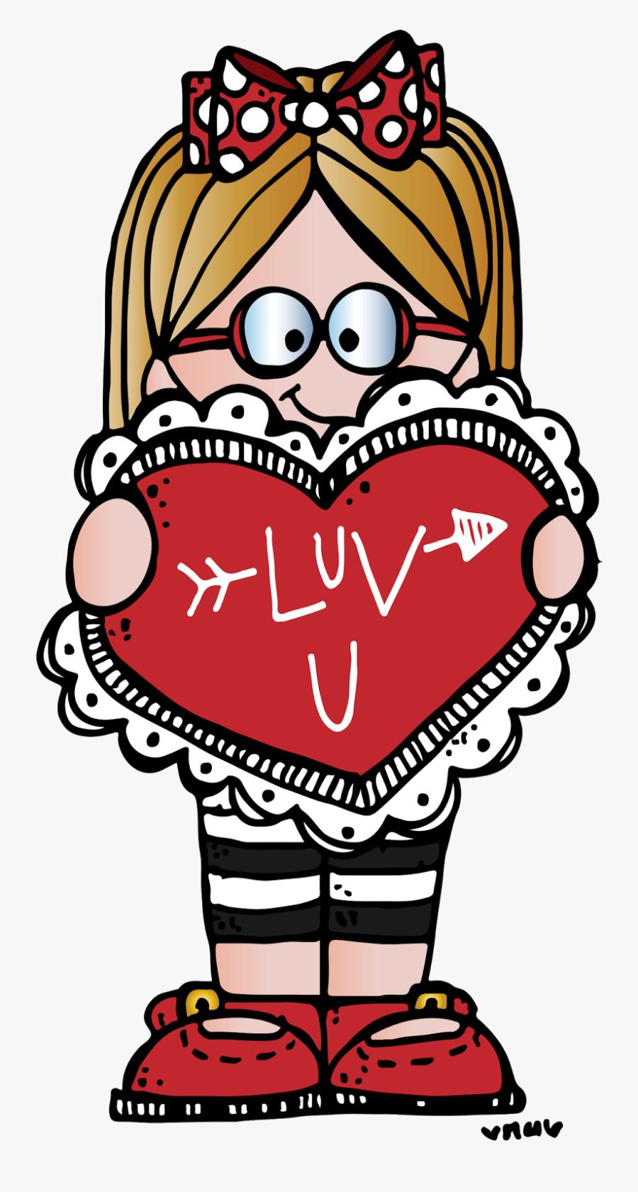 Melonheadz Valentines Clipart, Transparent Clipart
