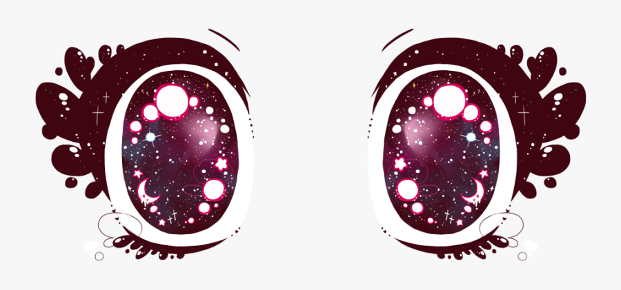 Transparent Eye Clipart - Clear Anime Eyes Png, Transparent Clipart