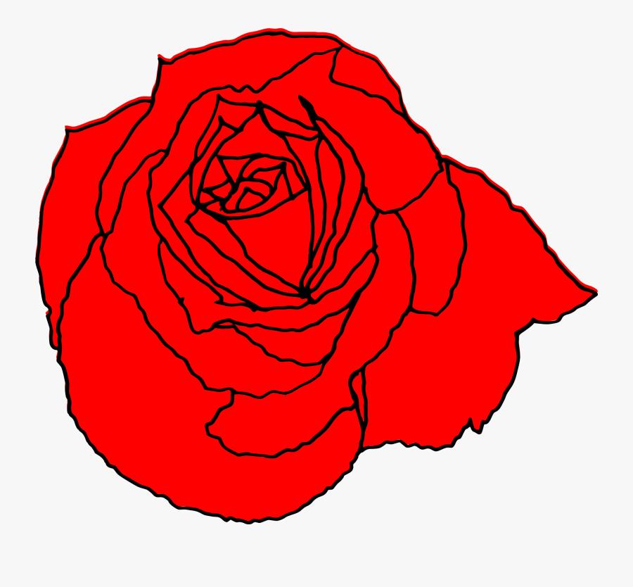 Clip Art Transparent Drawing At Getdrawings - Translucent Rose Drawing, Transparent Clipart
