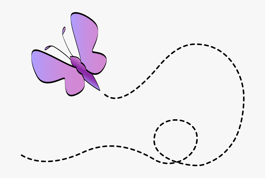 Clip Art Butterfly Flying, Transparent Clipart