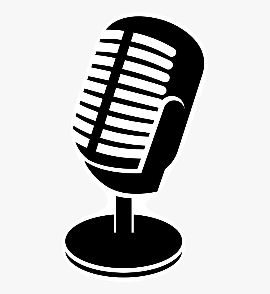Microphone Clipart Studio Microphone - Studio Microphone Clipart Png, Transparent Clipart