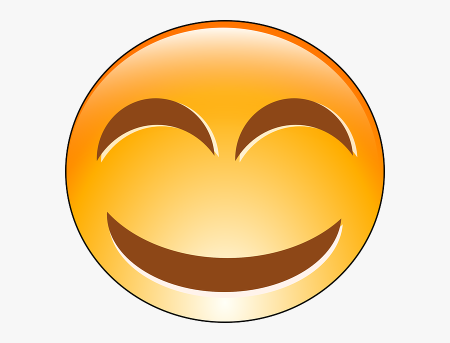 Laughing Smiley Gif Png, Transparent Clipart