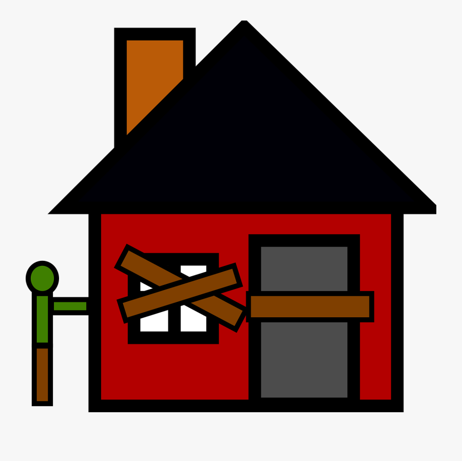 Commons Clipart House - House Made By Different Shapes, Transparent Clipart