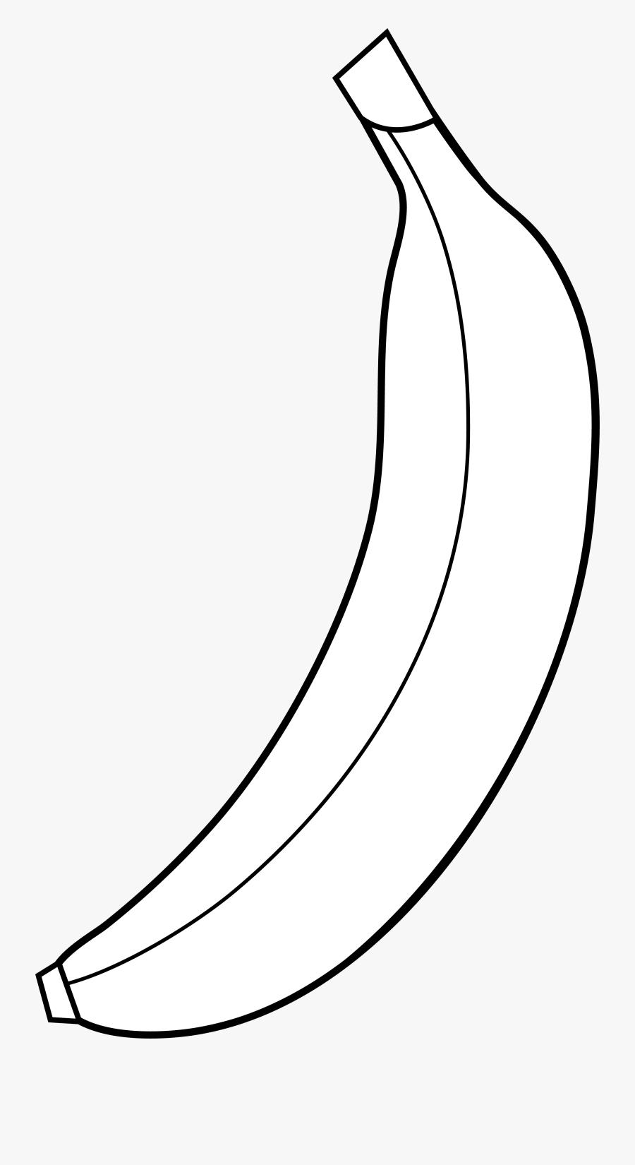 Banana Clipart 5 Image Clipartcow - Banana Logo Black And White, Transparent Clipart
