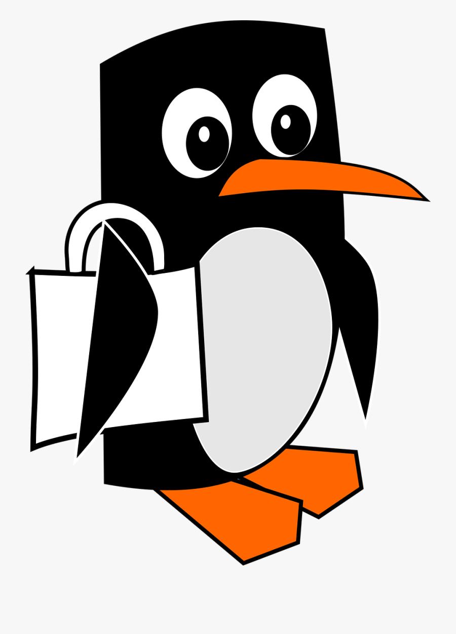 Penguin, Clipart, Animal, Drawn, Cartoon, Funny - ภาพ ตัด ปะ การ์ตูน, Transparent Clipart