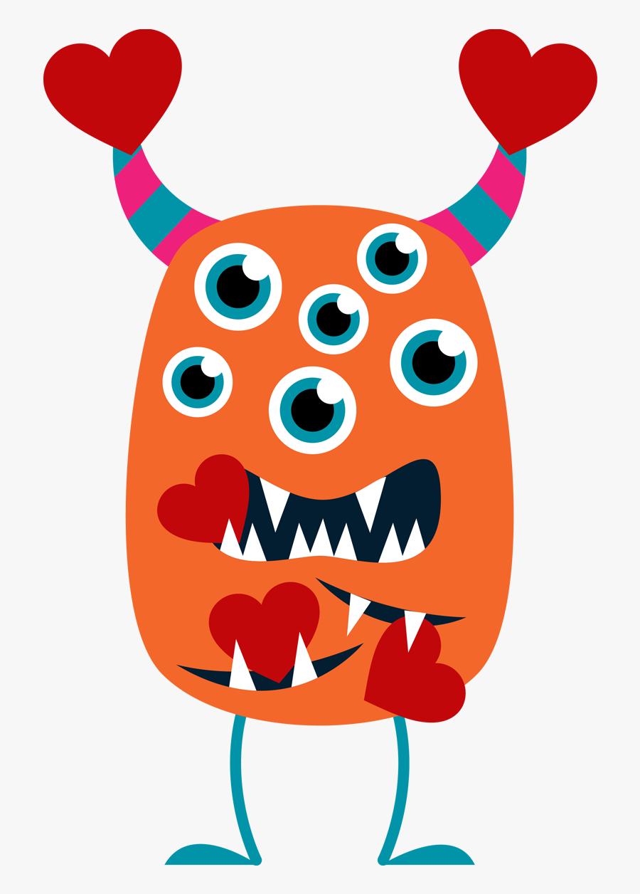 Valentine ~ Free Valentine Clip Art Images Valentines - Valentines Day Monster Clipart, Transparent Clipart