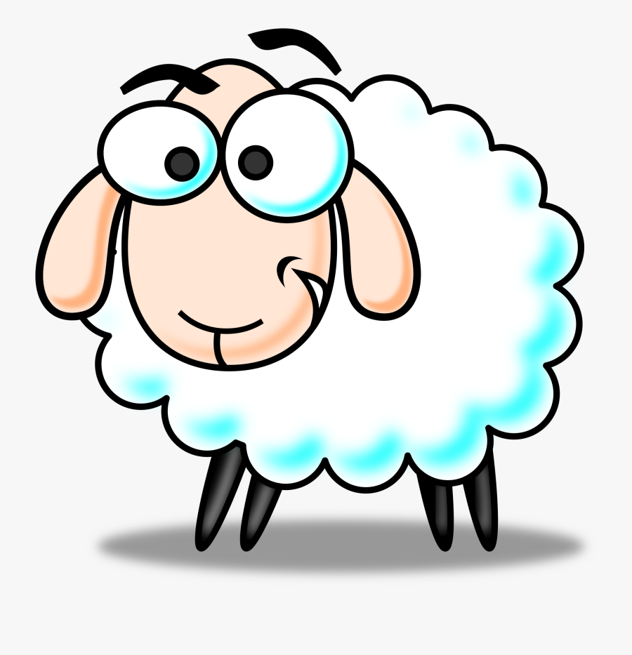 Cartoon Sheep - - Sheep Clipart, Transparent Clipart