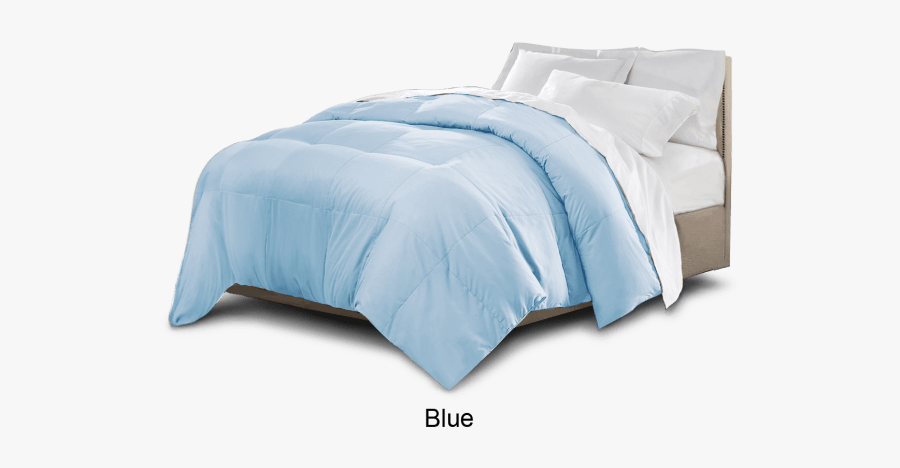 Collection Of Free Blanketed - Transparent Background Png Blue Bedding, Transparent Clipart
