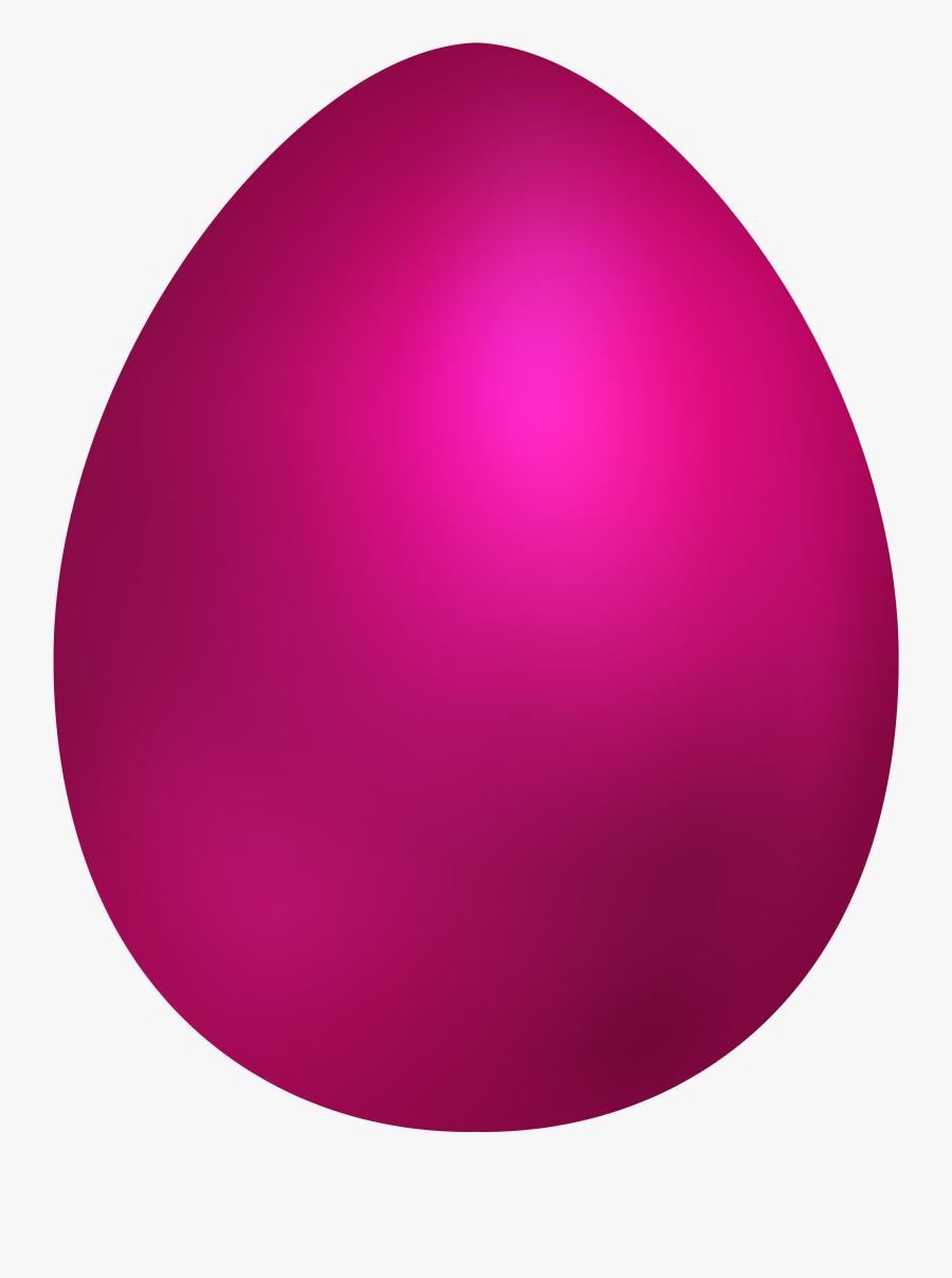 Pink Easter Egg Png Clip Art - Circle, Transparent Clipart