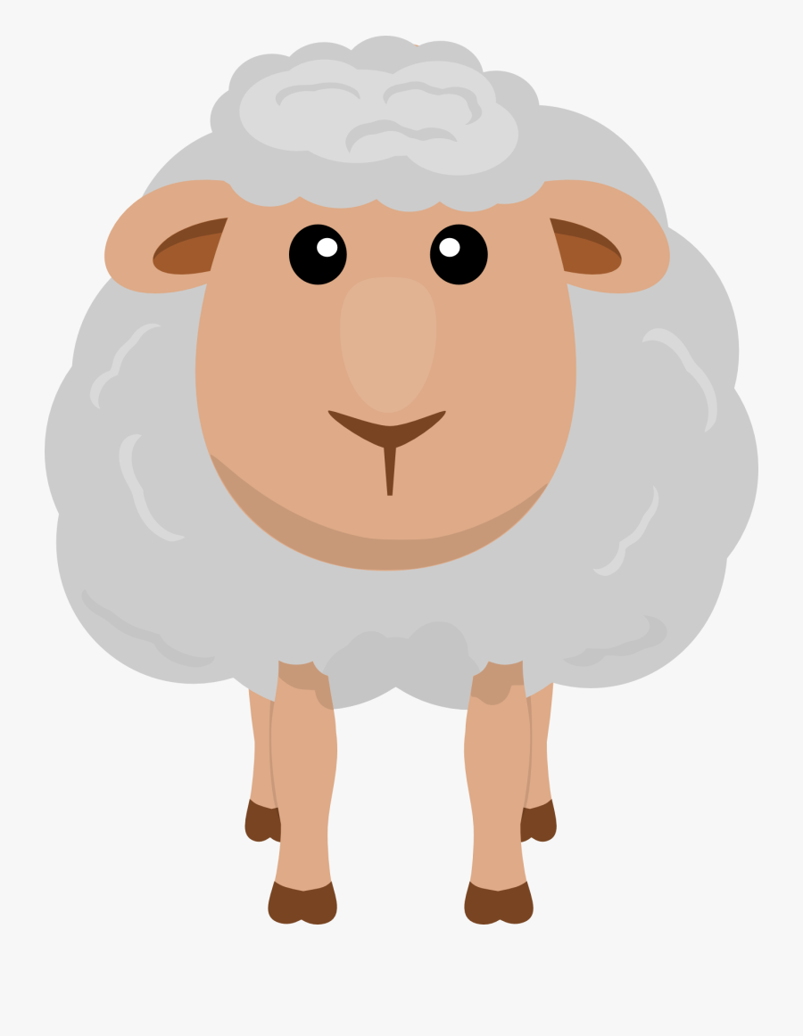 Sheep Clipart Printable Pencil And In Color Sheep - Clipart Transparent Background Sheep, Transparent Clipart