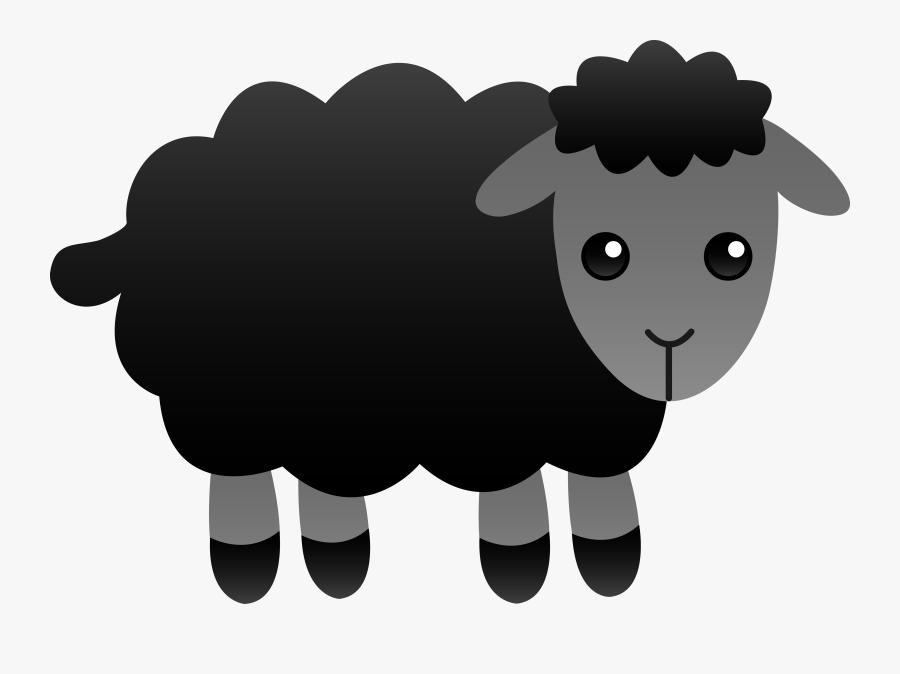 Baa Baa Black Sheep Clipart, Transparent Clipart