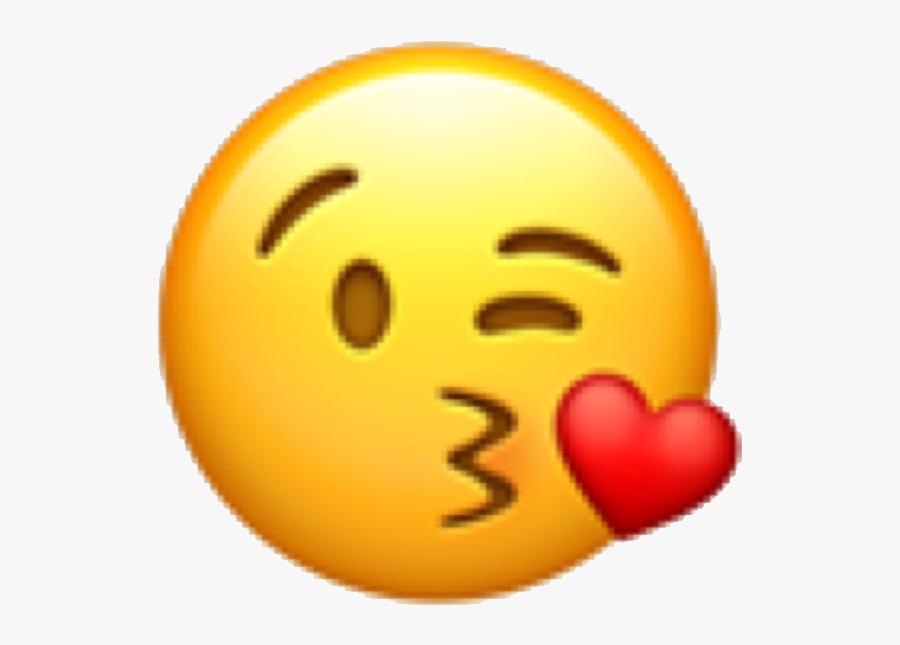 #emoji #emojicon #emote #face #emojiface #kiss #kissyface - Angry Kiss Emoji Png, Transparent Clipart