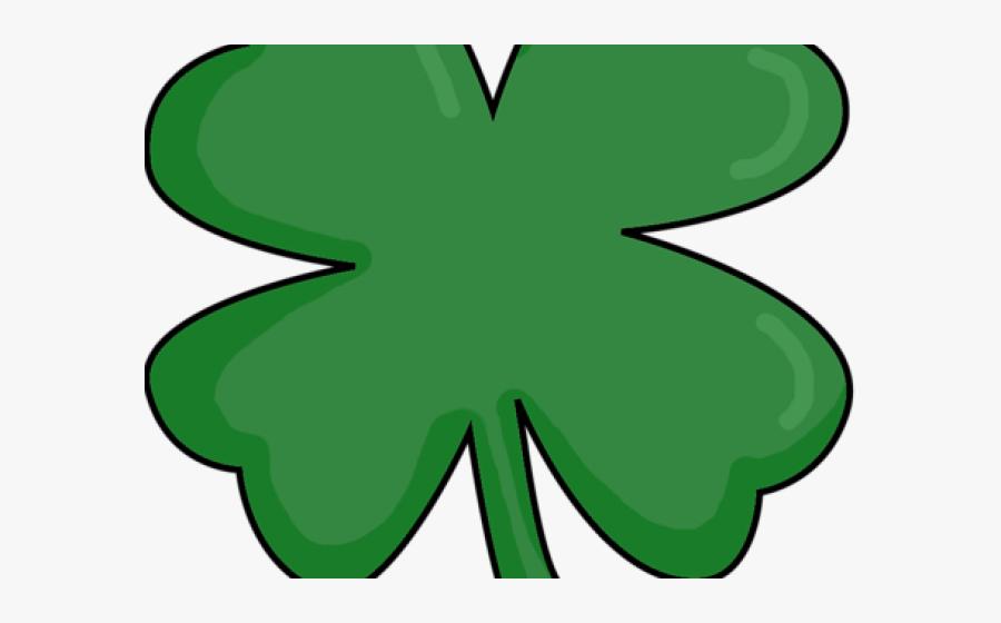 Small Clipart St Patricks Day - 4 Leaf Clover Transparent, Transparent Clipart