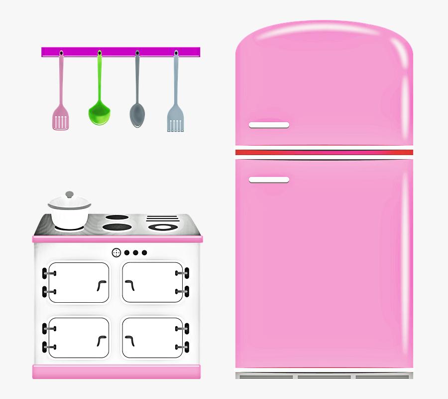 Retro Stove Retro Refrigerator Retro Kitchen Pots
