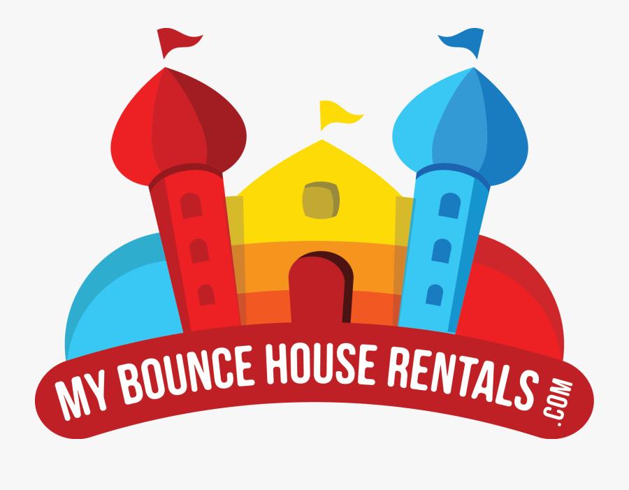 Bounce House Rentals - Illustration, Transparent Clipart