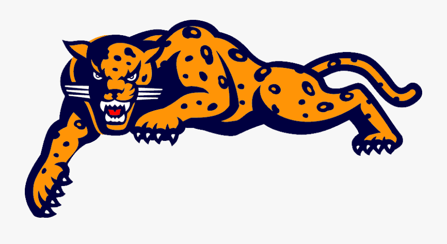 Jaguar Mascot Clipart - South Mountain High School Jaguar, Transparent Clipart
