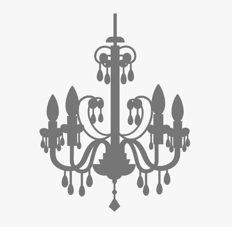 Transparent Candelabra Png - Chandelier Clip Art Transparent, Transparent Clipart