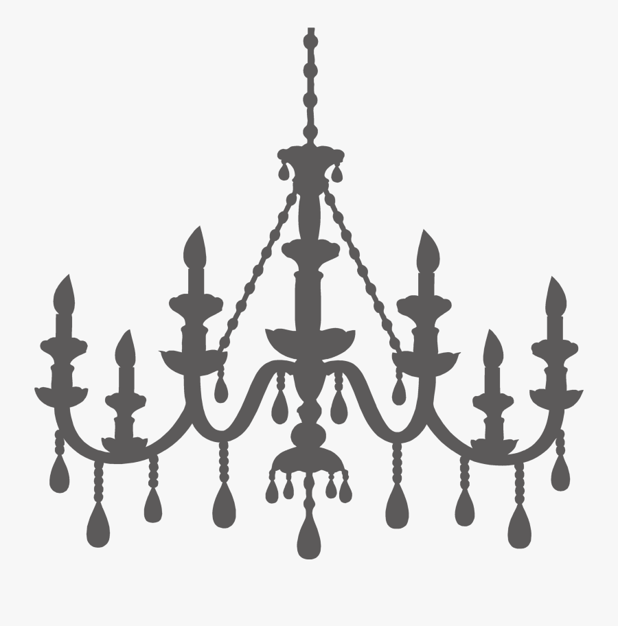 Png Royalty Free Template For Brooke Lola - Printable Paper Chandelier Template, Transparent Clipart