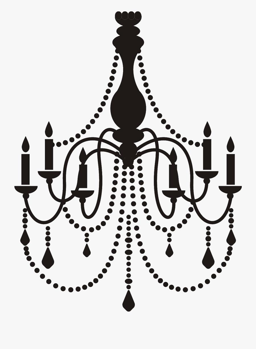 Chandelier Clip Art, Transparent Clipart