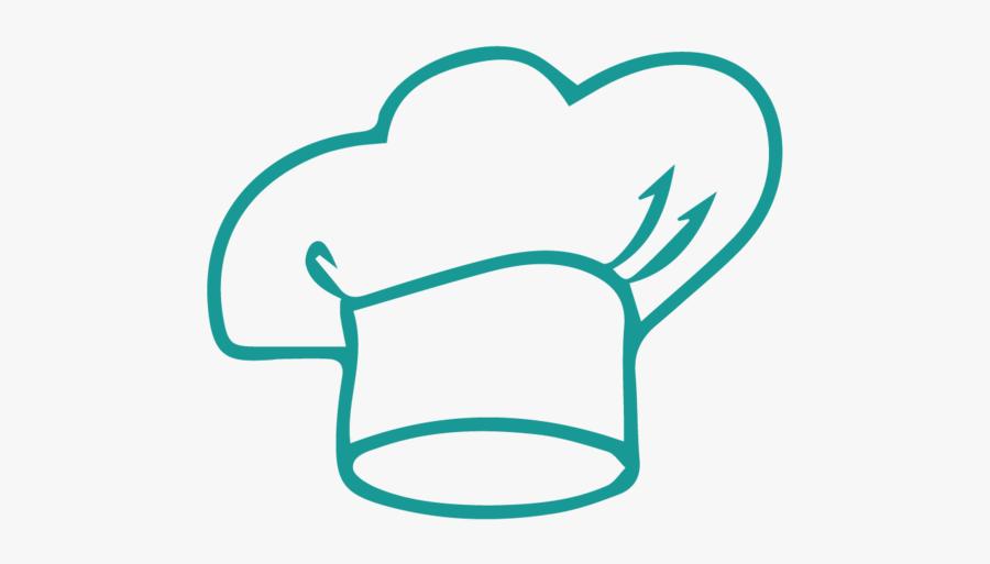 Koki Chef Hat -01 - Chapeu De Chefe De Cozinha Vetor, Transparent Clipart