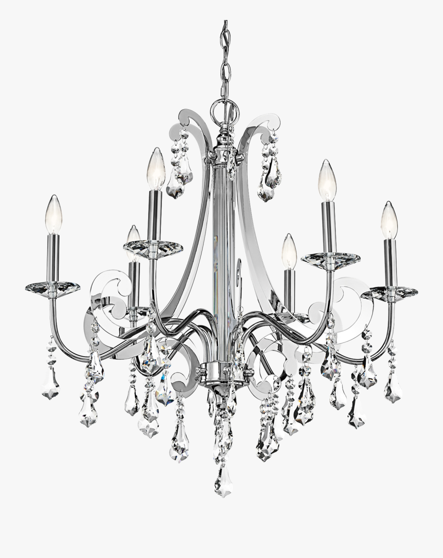 Clip Art Collection Of Free Drawing - Chandeliers Drawing, Transparent Clipart