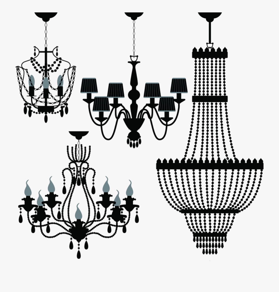 Chandelier Lighting Stock Photography Clip Art - Chandelier Vector, Transparent Clipart