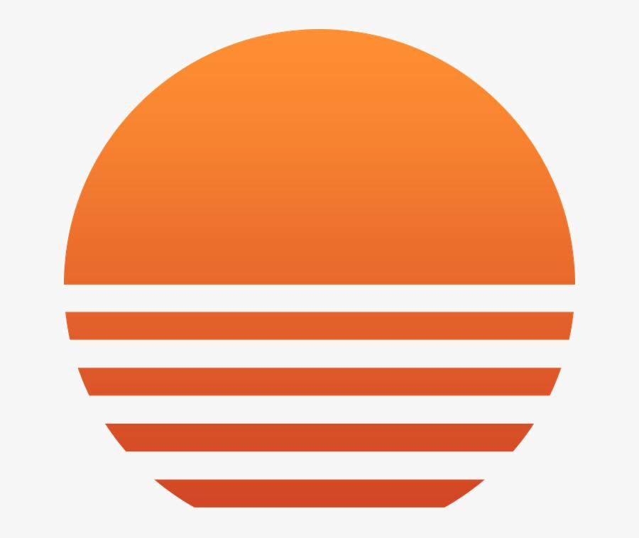 Sun, Sunset, Red, Orange, Sunrise, Summer, Beach Sunset - Sun Sunset Png, Transparent Clipart