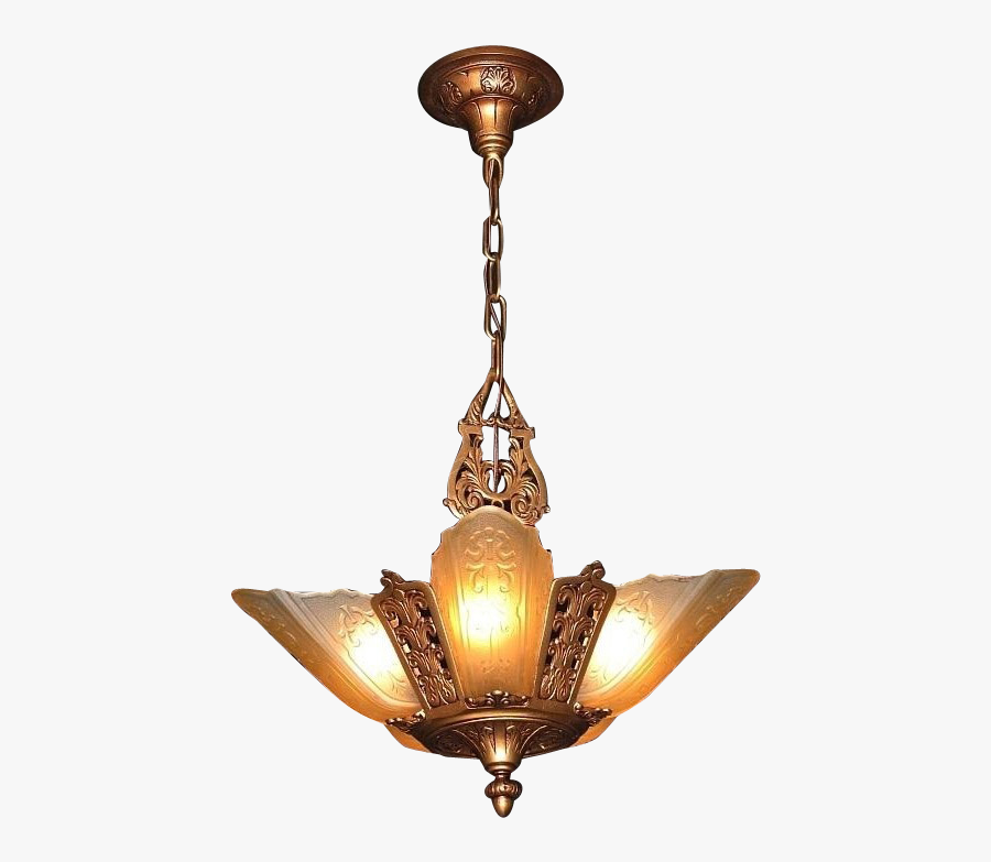 Light Lighting Chandelier Fixture Pendant Download - Vintage Light Png, Transparent Clipart