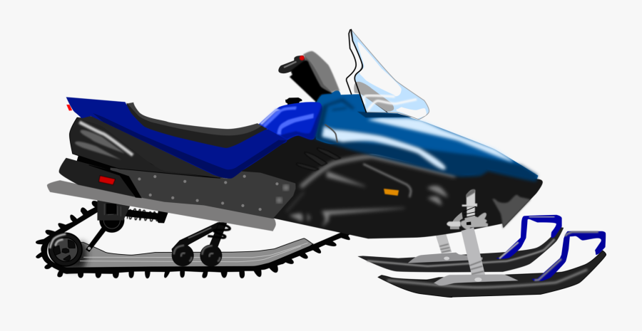 Vehicle,sled,automotive Design - Snowmobile Clipart, Transparent Clipart