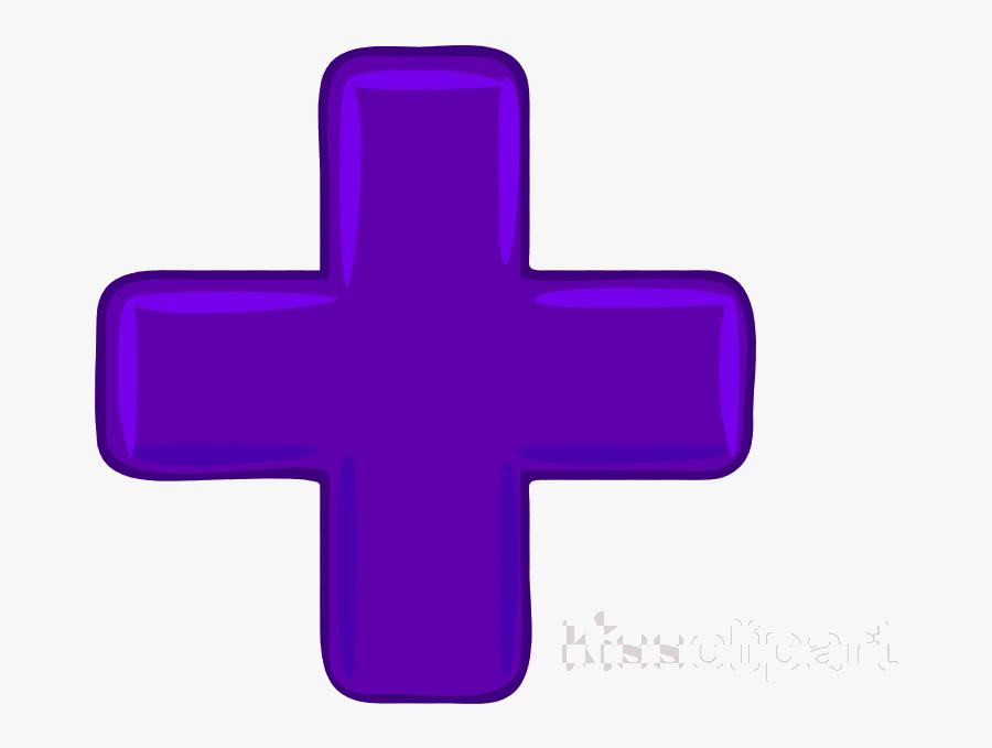 Plus Sign Addition Symbol Clip Art Clipart And Minus - Cross, Transparent Clipart