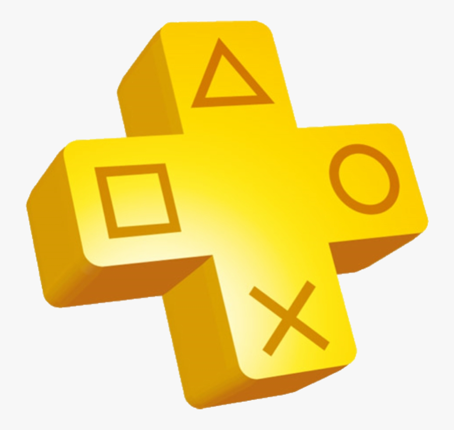 Playstation Symbol Angle Plus Free Clipart Hq - Playstation Plus Logo Transparent, Transparent Clipart