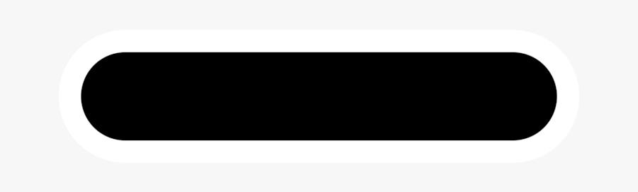 Line,plus And Minus Signs,meno - Black Minus Sign, Transparent Clipart