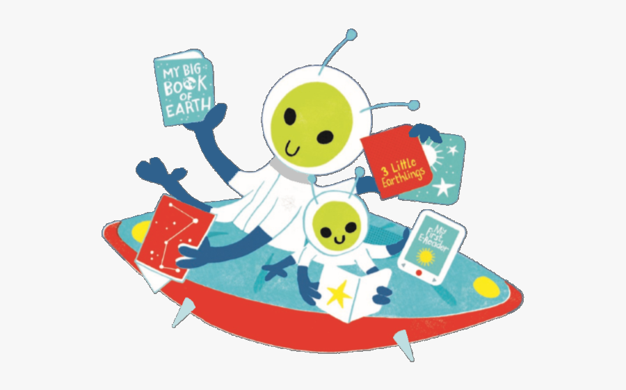 Kids Adults Reading Illustration, Transparent Clipart