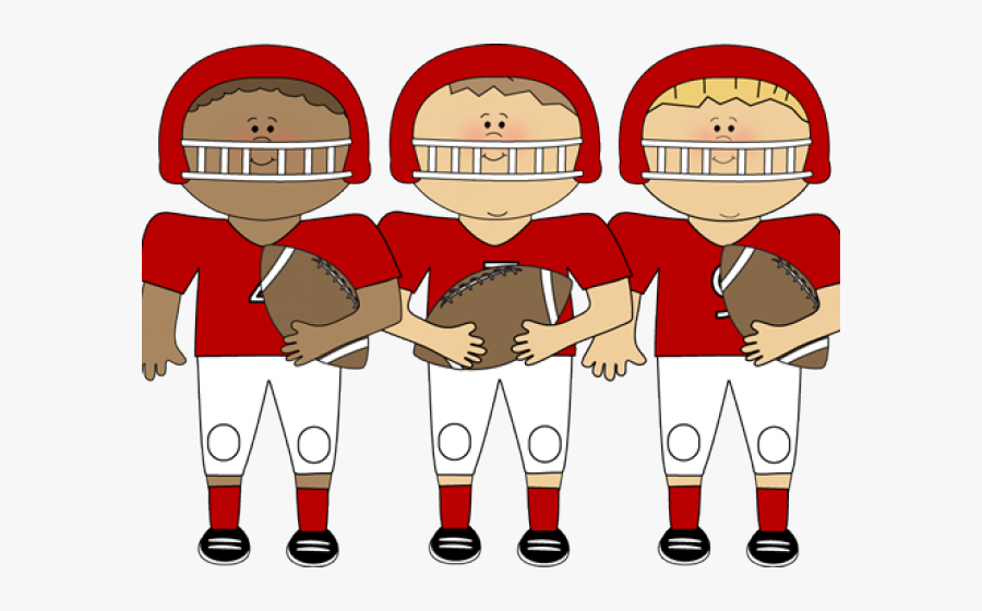 Transparent Team Clipart - Clip Art Football Team, Transparent Clipart