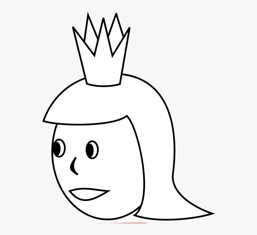 Queen Line Art Nicubunu Ornamental Deck Queen Of Spades - Black And White Photo Queen Clipart, Transparent Clipart