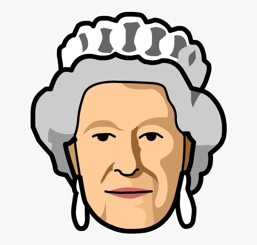 Queen Elizabeth Ii - Queen Elizabeth Vector Png, Transparent Clipart