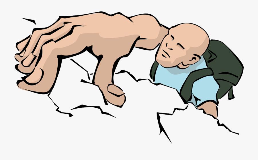 Rock Climbing Clip Art, Transparent Clipart