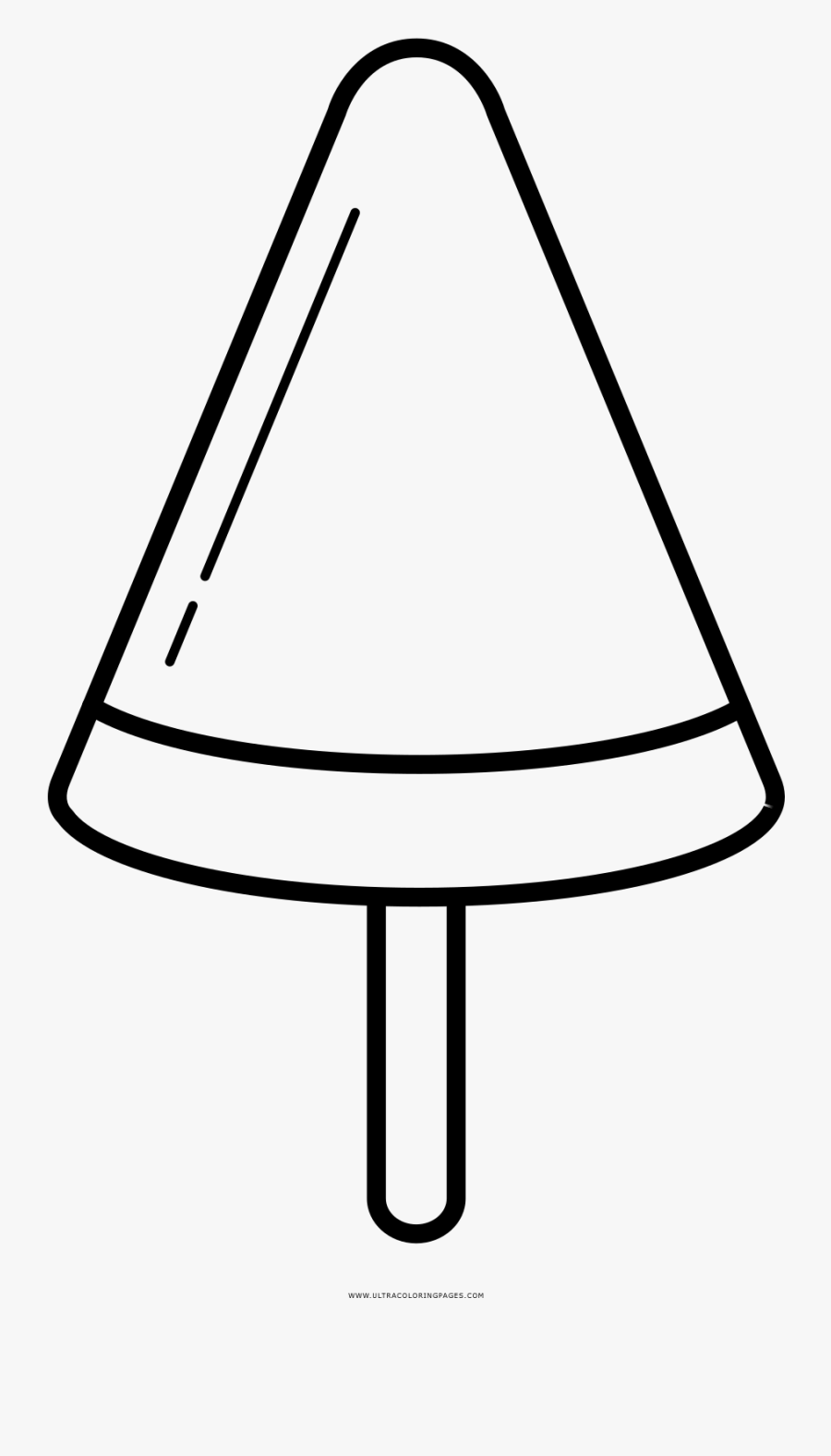 Popsicle Coloring Page Free Transparent Clipart Clipartkey