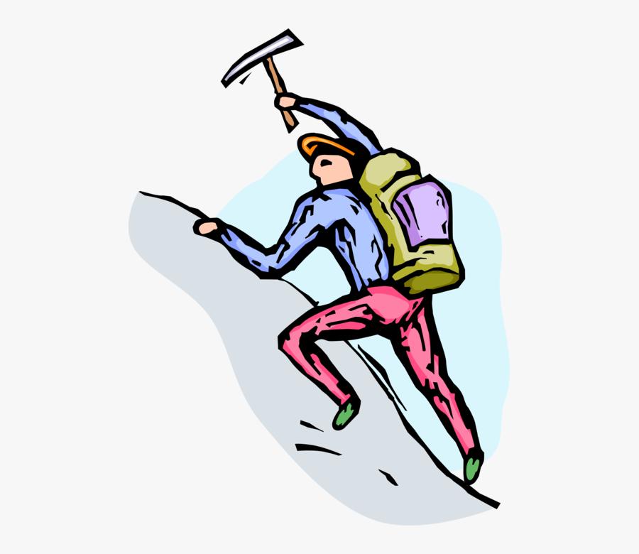 Transparent Mountain Climber Png, Transparent Clipart