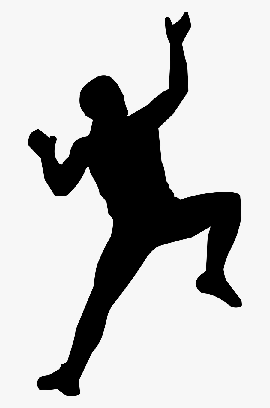Climbing Man Mountains Free Picture, Transparent Clipart
