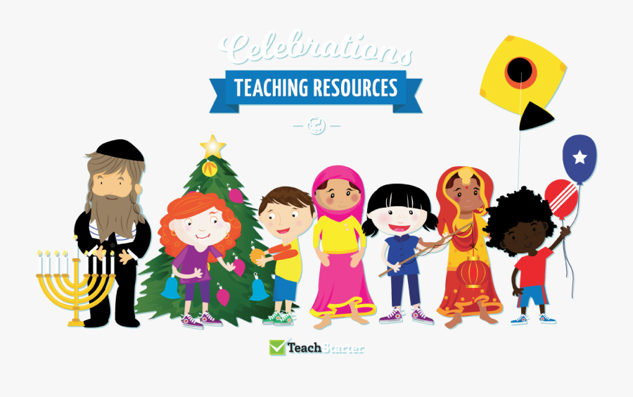 Celebrations Resource Collection Teach Starter - Celebrations Around The World Clipart, Transparent Clipart