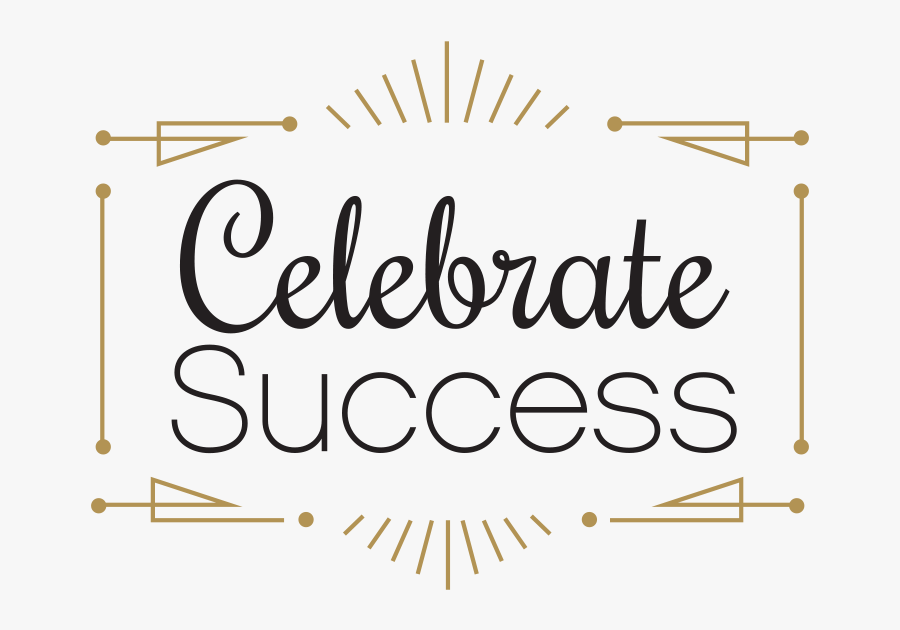 Celebrate Success Clip Art, Transparent Clipart