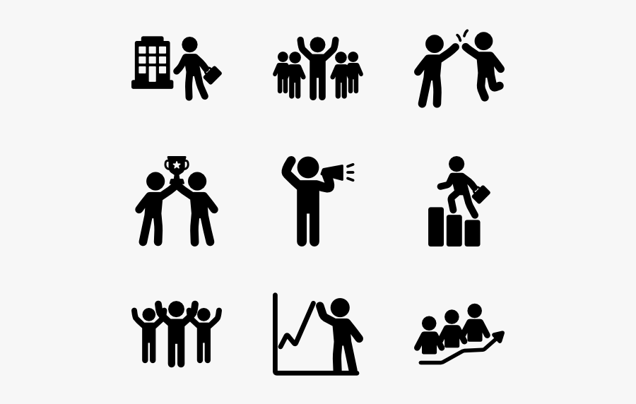 People Icon Packs - Celebration Icon, Transparent Clipart