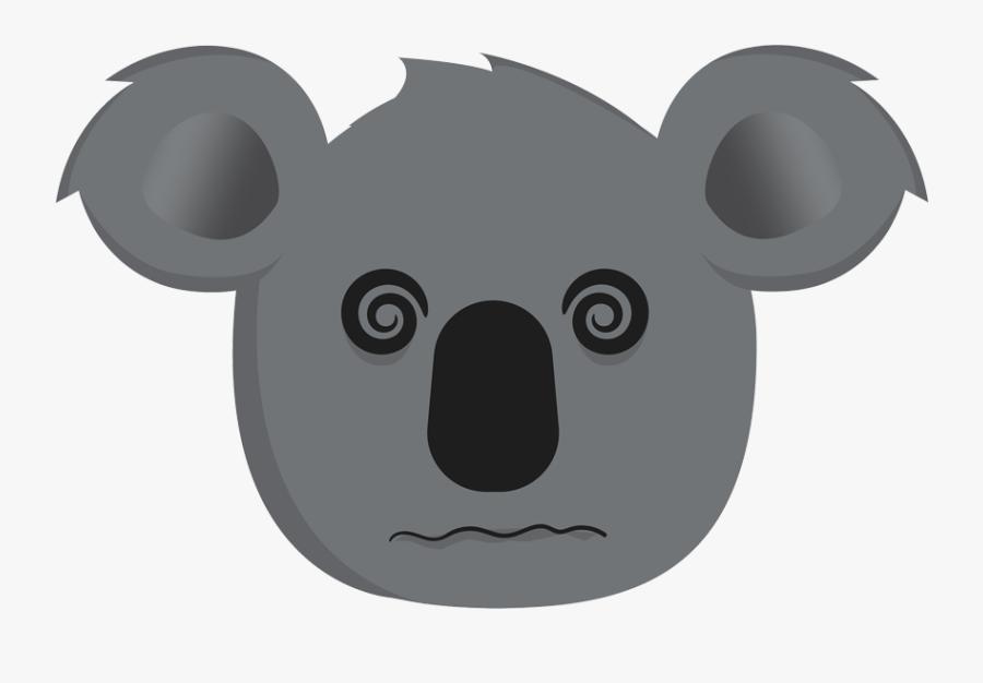Hd Hangover Koala - Koala, Transparent Clipart
