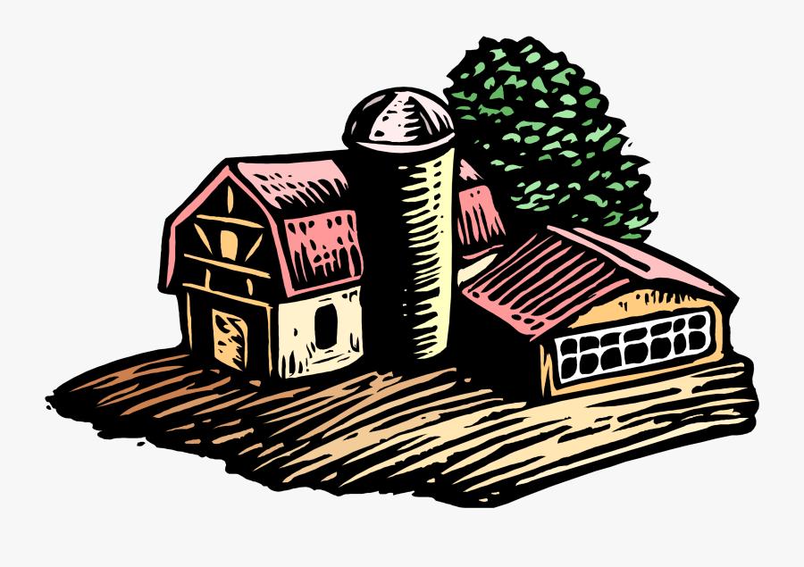 Farm Landscape , Transparent Cartoons - Farm Landscape, Transparent Clipart