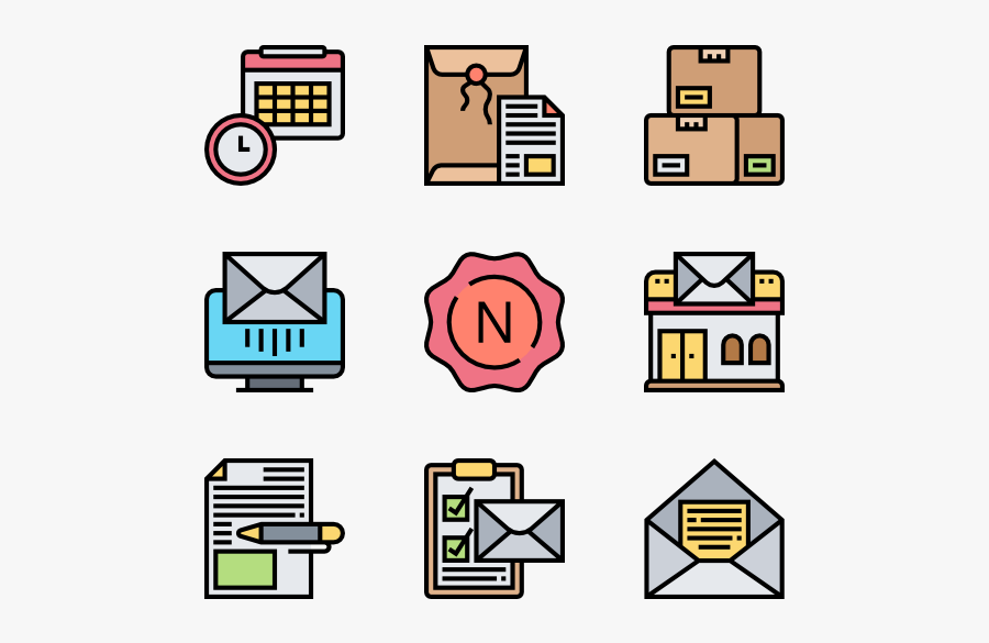 Postal Elements - View From Top Icon Furnitures, Transparent Clipart