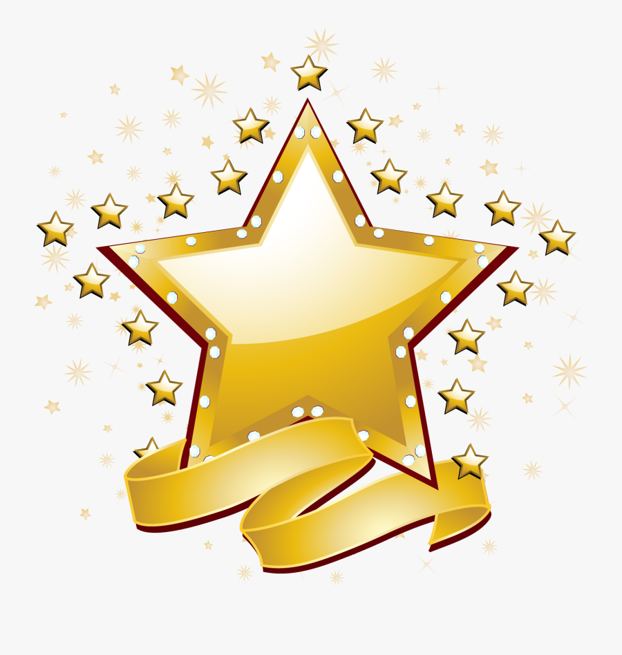 Free Star Vector Jpg Library Library, Transparent Clipart