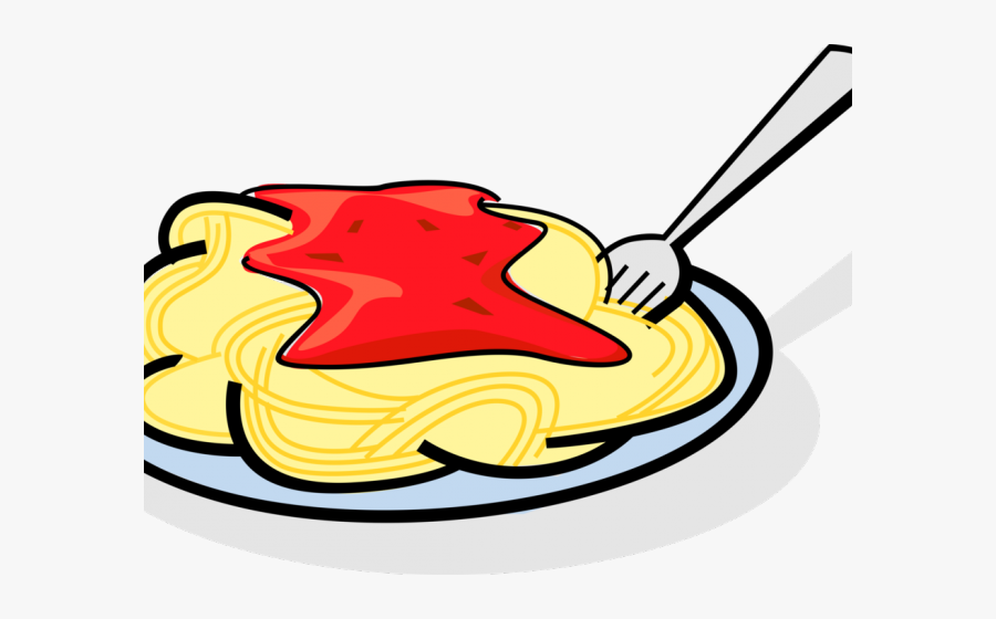 Pasta Clipart Spaghetti Fork, Transparent Clipart