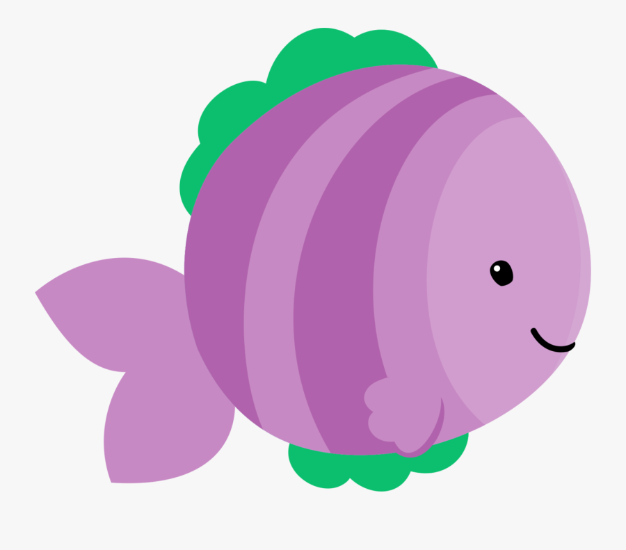 Cute Purple Fish Clipart , Free Transparent Clipart ...